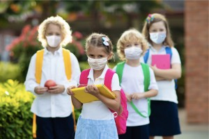 school-child-wearing-face-mask-virus-outbreak-picture-id1220925841